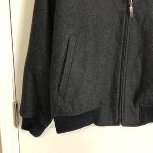 Claiborne Jackets & Coats - Men's Claiborne Wool Blend Bomber Jacket